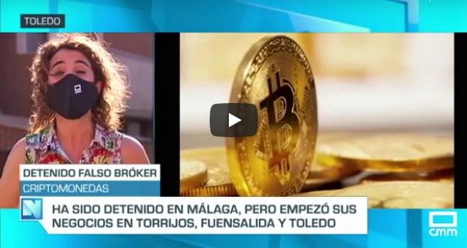 "Reportaje de cmm Noticias ""El Falso Broker"" Entrevista a Emilia Zaballos"